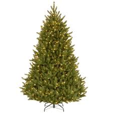 national tree company 7 1 2 ft fraser medium fir hinged