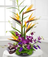 tropical flower arrangements garden in paradise tropical flower arrangement veldk s