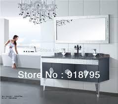stainless steel bathroom vanity cabinet bathroom decoration