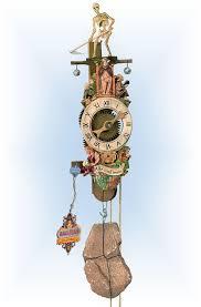 romba medevil reaper wall clock 18 bavarian clockworks