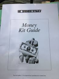 touch math money kit guide worksheets 272798199532 10 99