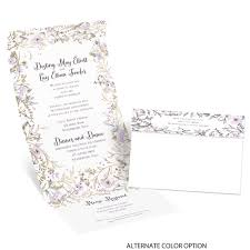 Seal And Send Invitations Wildflower Frame Foil Seal And Send Invitation Invitations By Dawn