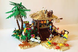 lego ideas tropical beach hut