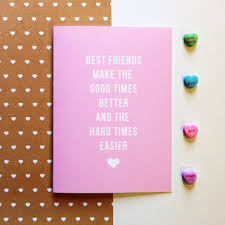 day cards for friends customizable friend birthday card best from bepaperie on etsy