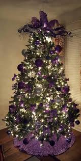 purple christmas tree violet christmas tree the feather topper and the ruffled