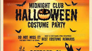 halloween flyer 2014 free psd template download youtube