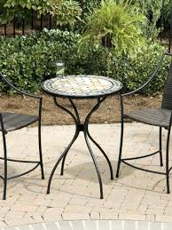 home design engaging stone top outdoor dining table tampa mosaic