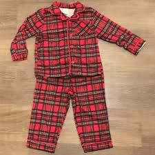 classic plaid boy s pajamas toddler