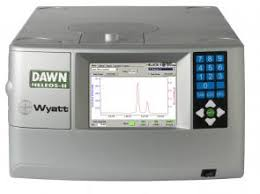 multi angle light scattering dawn multi angle light scattering detector from wyatt get quote