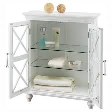 Floor Cabinet With Doors Bathroom Elegant Home Fashions Elg 5 Windsor Double Door Floor