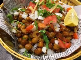 cuisine legume chana chaat swati s kitchen