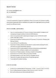 Network Engineer Resume Example by Sample Network Engineer Resume Jennywashere Com