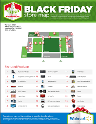 walmart black friday store maps 2014 released