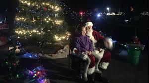 santa rosa christmas lights santa claus abc7news com
