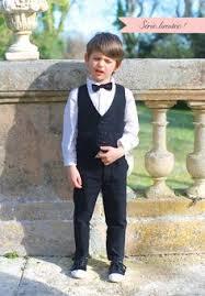 tenue enfant mariage costume ceremonie garçon tenue de mariage cortege et bapteme