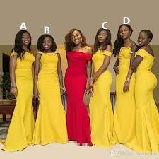 evening wedding bridesmaid dresses 2017 mixed styles bridesmaid dresses mermaid shoulder