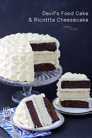 chocolate cake and cheesecake pint sized baker