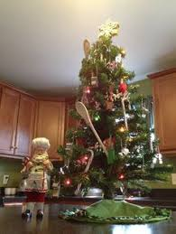because every kitchen needs a tree with antique kitchen utensil