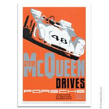 porsche racing poster nicolas hunziker porsche 908 steve mcqueen sebring 1970 poster aw3917
