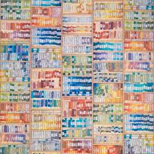 colored chalk wallpaper by mr u0026 mrs vintage do shop