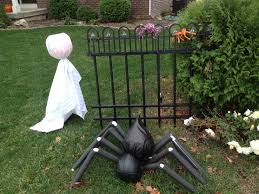 homemade outdoor halloween decorations ideas