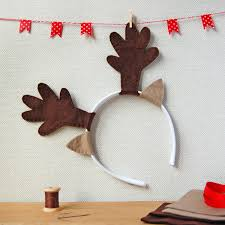 reindeer antlers dress up craft kit make your own