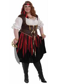 plus size costumes for women plus size pirate costume plus size pirate wench costume