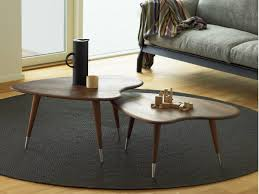 walnut coffee table strawberry by naver collection design nissen