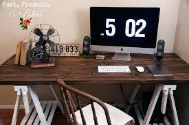 Desks Diy Diy Rustic Desk Bethebridge Co