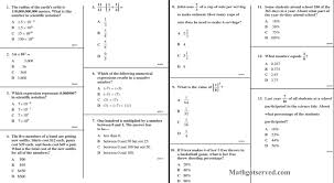 Common Denominator Worksheets Cahsee Pt I 1to13 Interactive Worksheet Number Sense Youtube