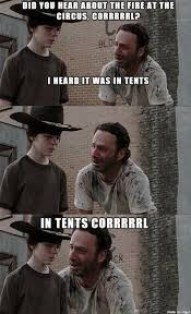 Rick Carl Memes - the 18 best rick and carl memes smosh