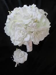 realtouch gardenia and stephanotis wedding vintage rhinestones