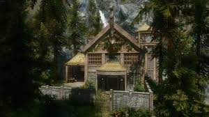 cliffside cottage at skyrim nexus mods and community