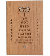 mother u0027s day eye chart cardtorial