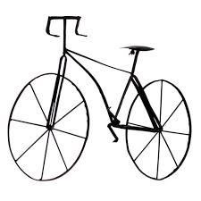 home decorators wall art home decorators collection 39 5 in w bicycle wall sculpture