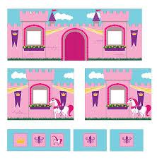 Princess Castle Bunk Bed Amazon Com Dhp Curtain Set For Junior Loft Bed With Princess