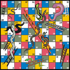 snakes and ladders free coloring pages