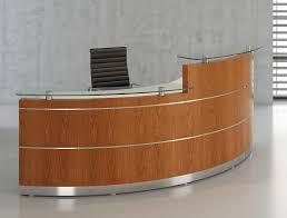 Circular Reception Desk by Premier Veneer And Laminate Reception Desk