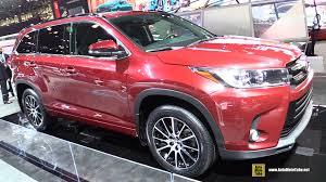 toyota vehicles 2017 toyota highlander se exterior walkaround 2016 new york