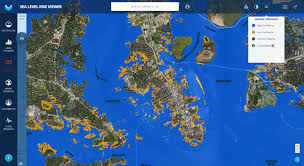 Show Me A Picture Of The World Map by Sea Level Rise Viewer
