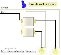 how to install a double light switch wiring diagram for a double light switch awesome wiring diagram