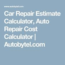 Auto Engine Repair Estimates by Best 25 Auto Repair Estimates Ideas On Car Repair