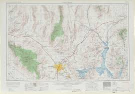 Nevada Map Las Vegas Topographic Maps Nv Az Usgs Topo Quad 36114a1 At 1