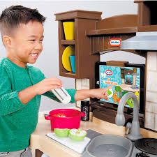 Little Tikes Storage Cabinet Cook And Learn Smart Kitchen Little Tikes
