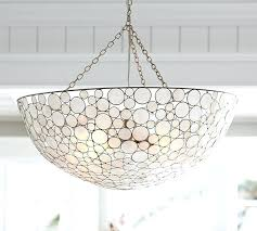 Capiz Light Pendant Marina Pendant Pottery Barn Capiz Shell Lighting Capiz