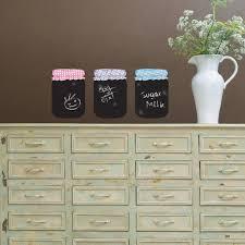 jar sticker design chalkboard wall sticker in jam jar design