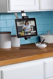 kitchen furniture images amazon com belkin kitchen cabinet tablet mount computers