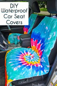 Car Upholstery Repair Tape Car Seat Covers Very Simple To Make From A Towel And A Cheap