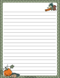 fall harvest stationery compassion letter club