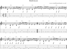 this is halloween music sheets for pdf u2013 fun for halloween